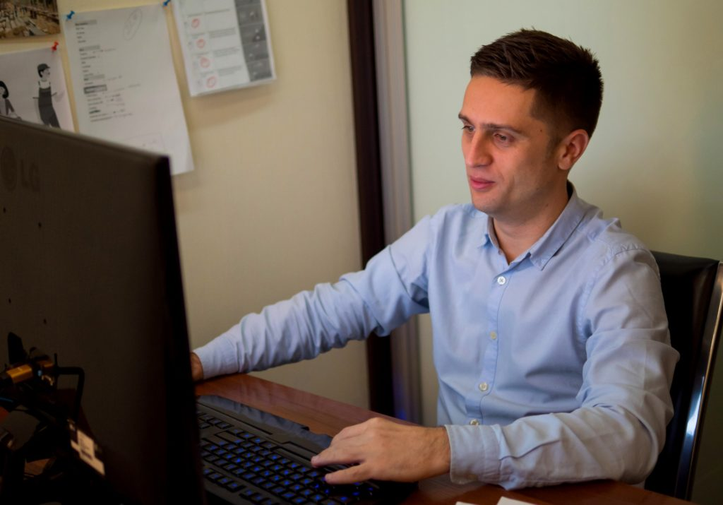 Yuriy Polyashko - founder and art director of Darvideo Studio