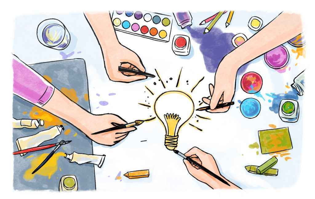 """Drawing - article """"Stages of creating an animated video"""""""