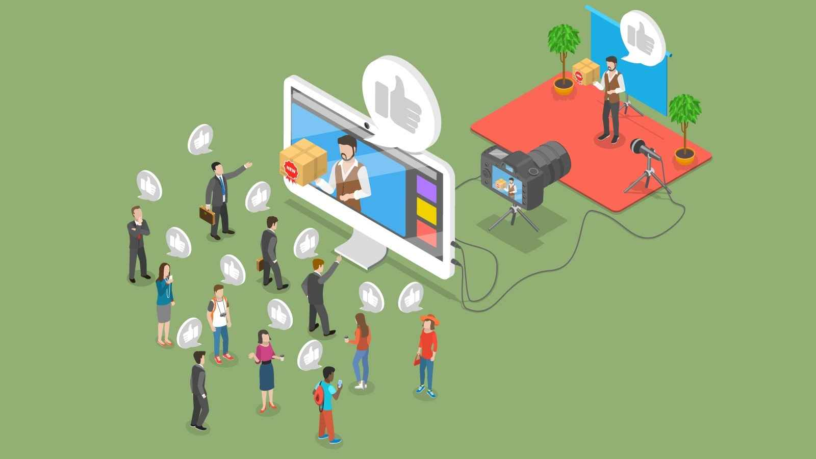 Attracting new customers in an article about commercial video