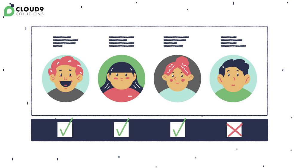 Newsletter of candidates for Outstaffing Explainer Video