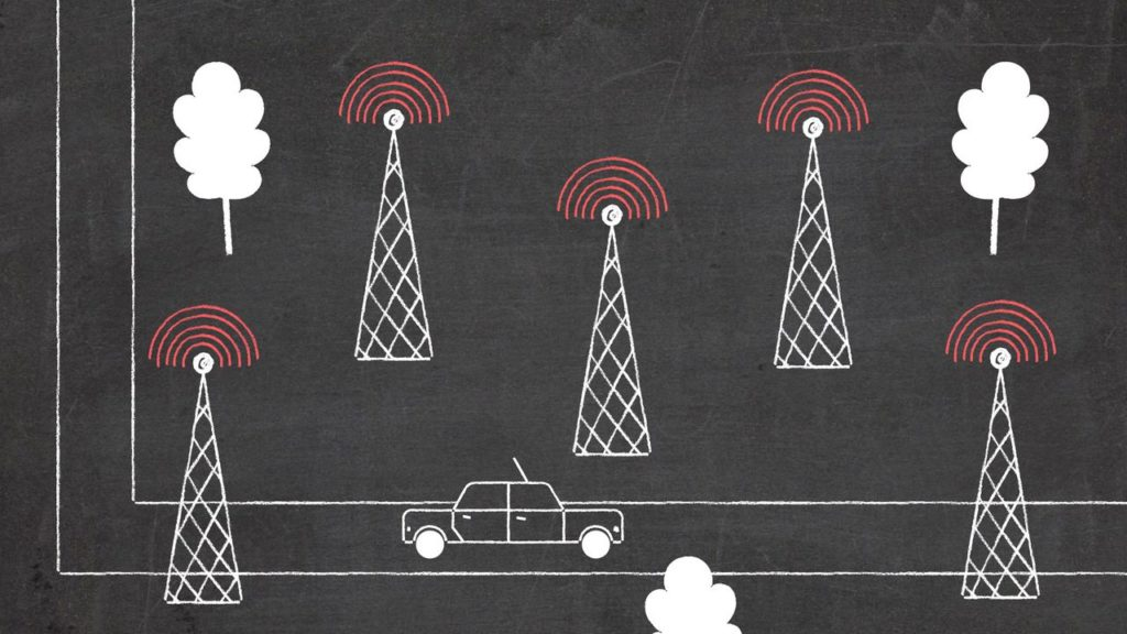 Communication towers - Animated Video