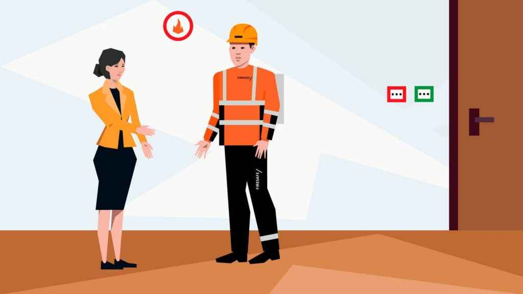 Fire Safety Conversation in Animated Video