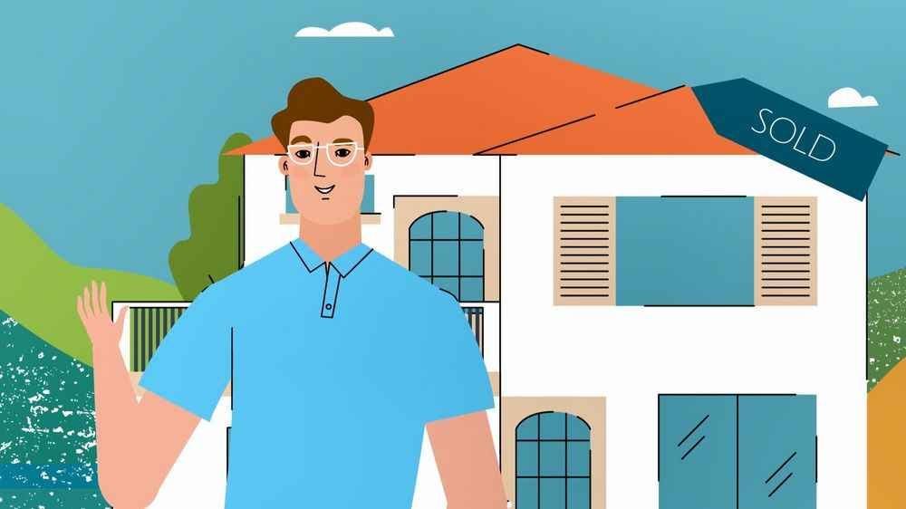 House sold - 2D Animated Video
