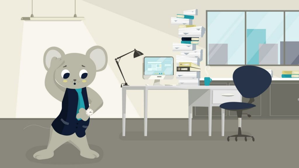 Confused mouse - 2D Animated Video