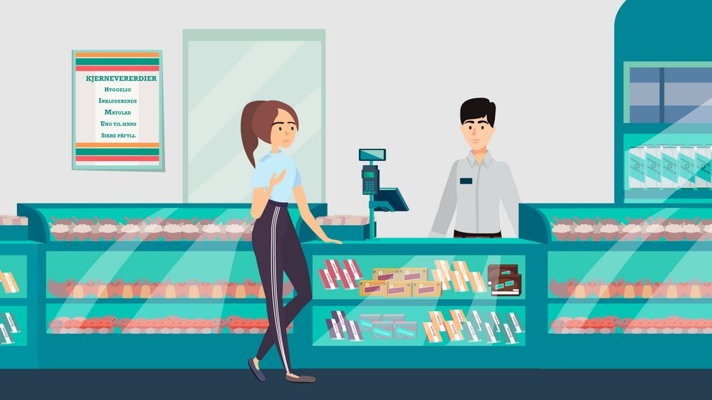 Market in 7eleven Instructional Animated Series