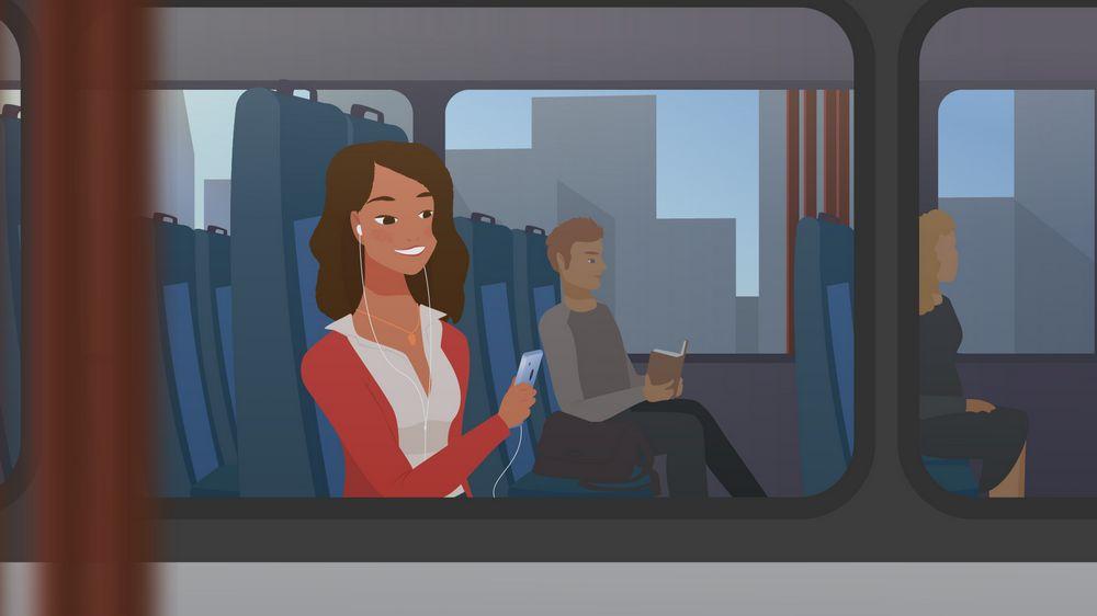 Bus ride - Animated Explainer Video