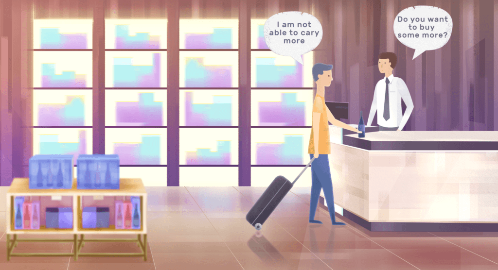 Man at the airport - Character Animation