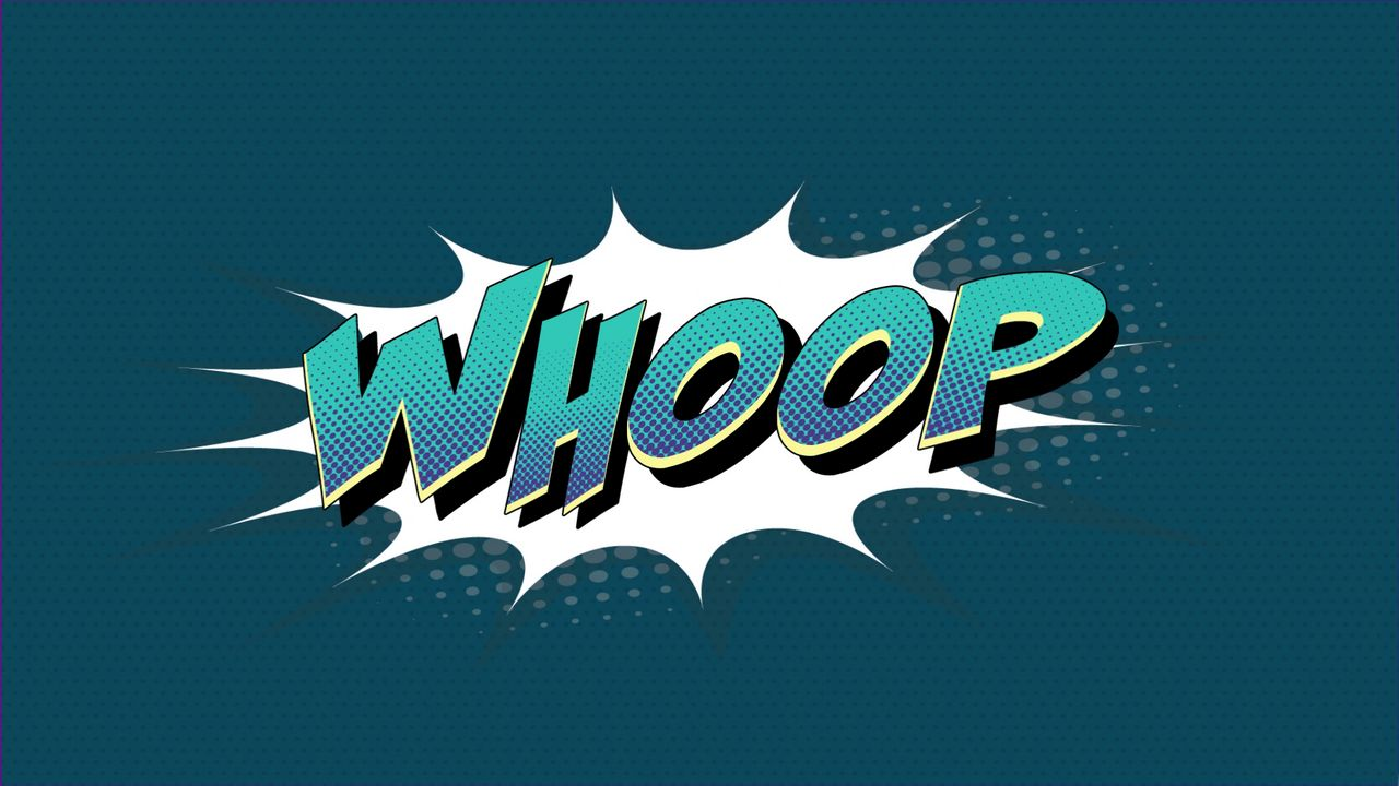 WHOOP - Banner Animation