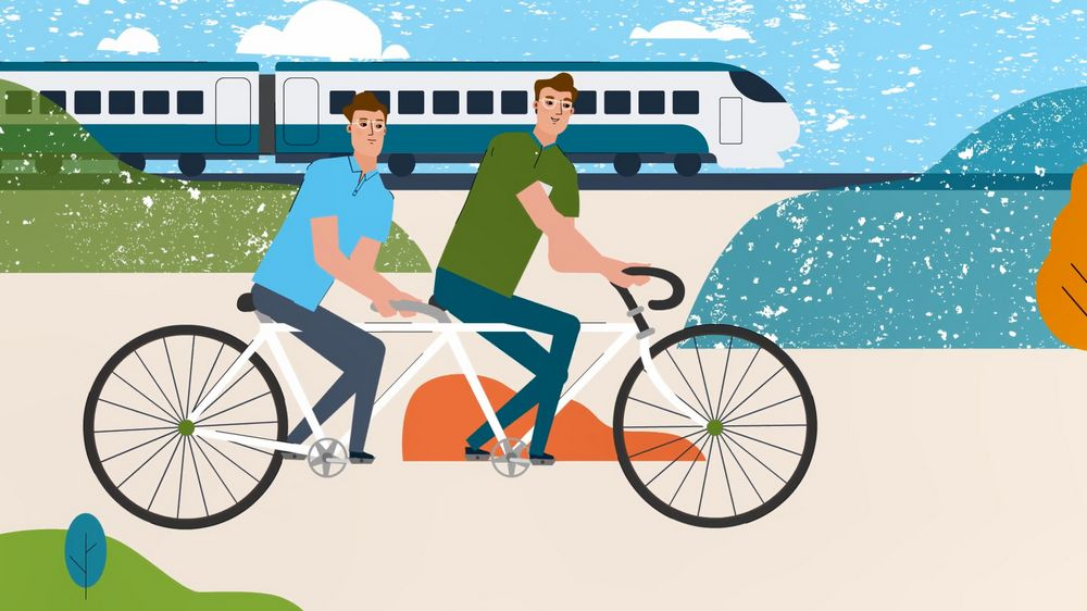 Cycling in Animated Explainer Video