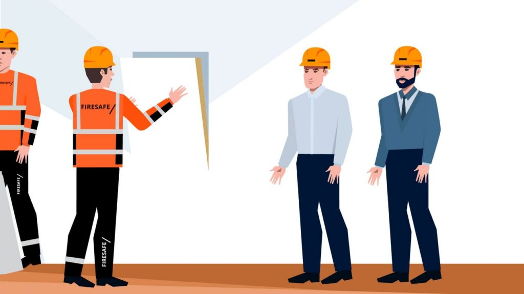 Workers in Animated Explainer Video