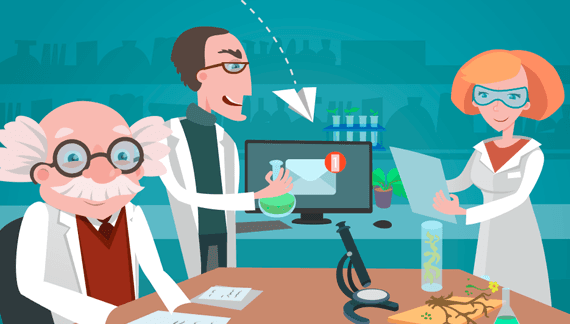 Animated video about research
