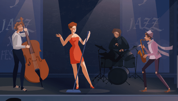 Music Video band performance - Animated Music Video