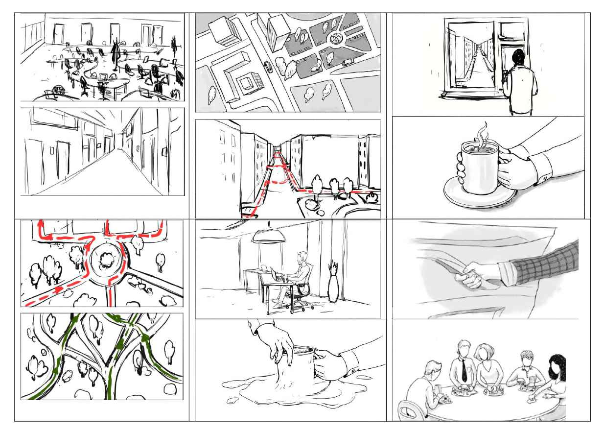 Storyboard to Organic Architecture Explainer Video