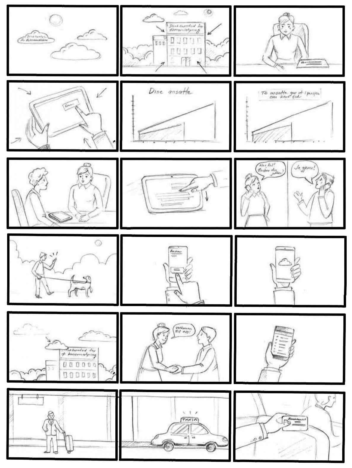 Storyboard DFO Explainer Video