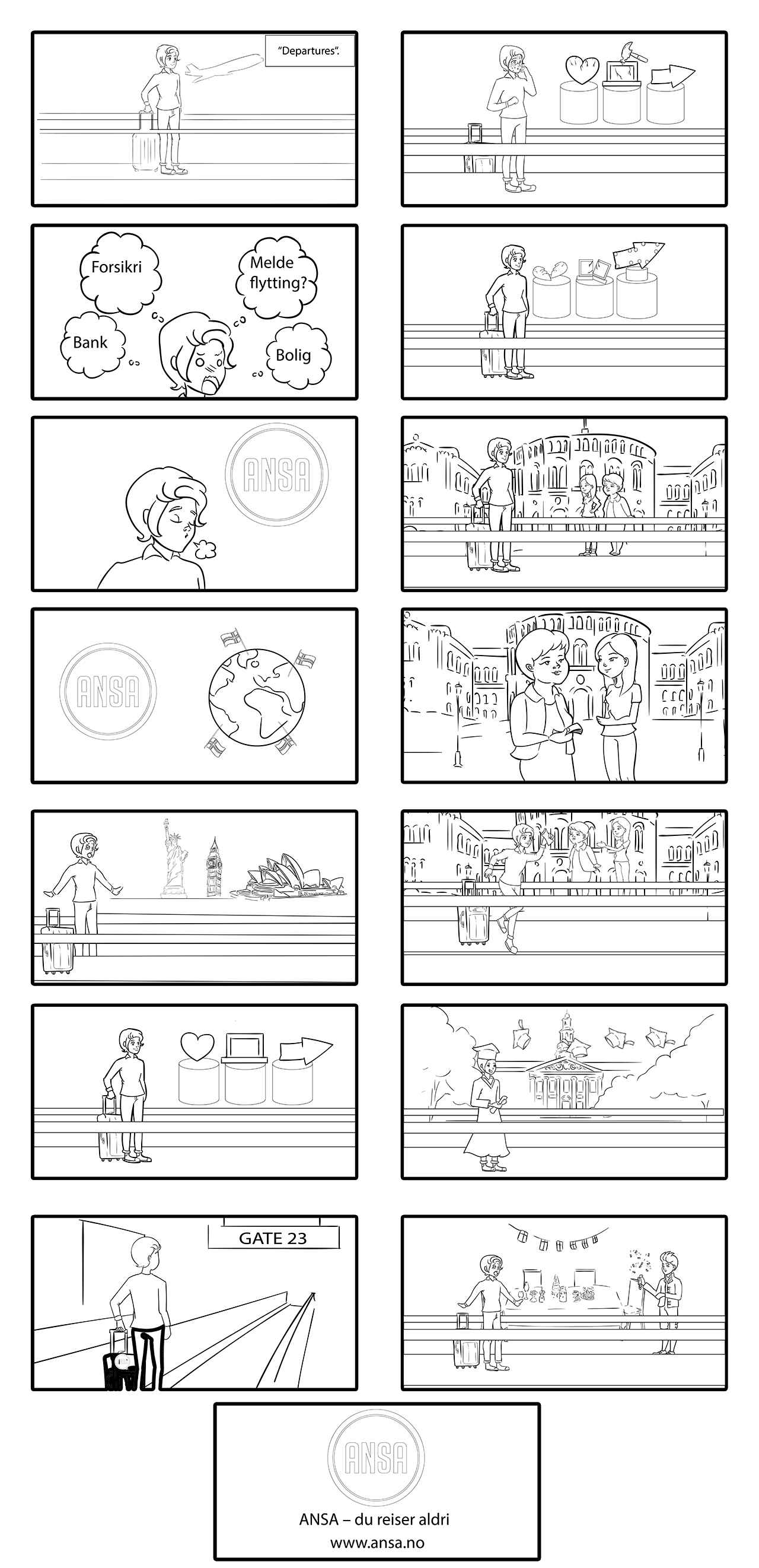 Storyboard to ANSA Explainer Video
