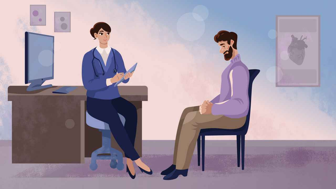 Doctor's consultation   2D Animated Video
