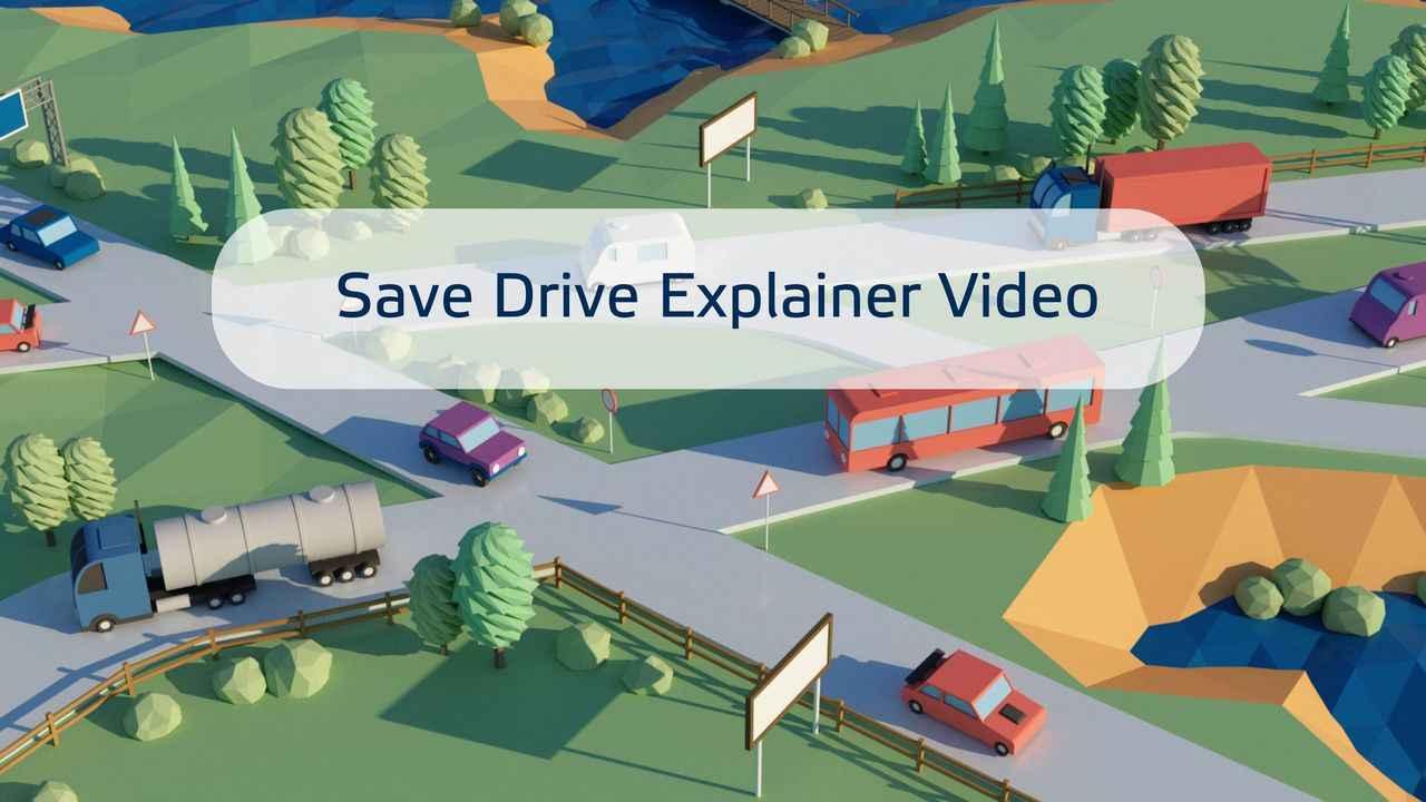 Safe Drive Explainer Video | 3D Animation