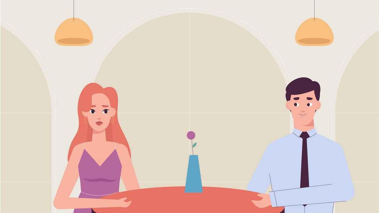 Romantic dinner - 2D Animated Video