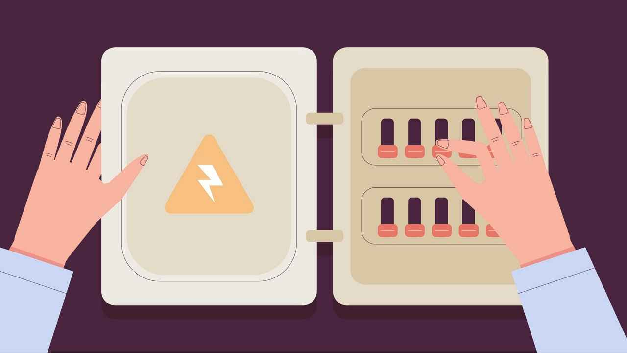 Electrical shield - Virtual Hand Explainer Video