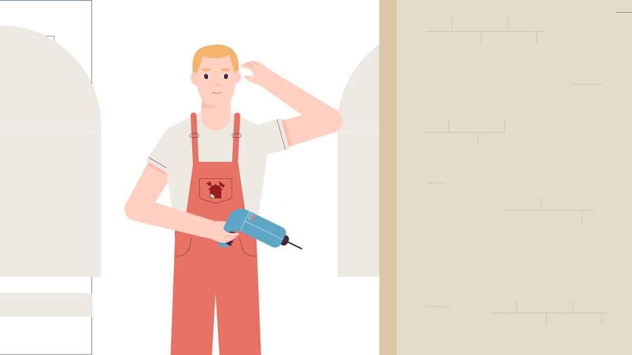 Repair master | Character Animation | Darvideo