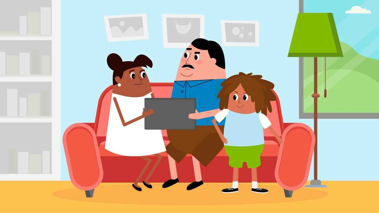 Family - 2D Animation