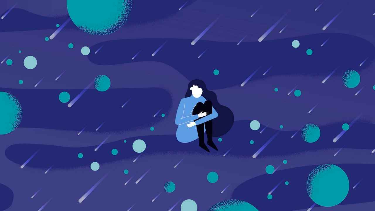 Girl in Animated Video about Human Rights