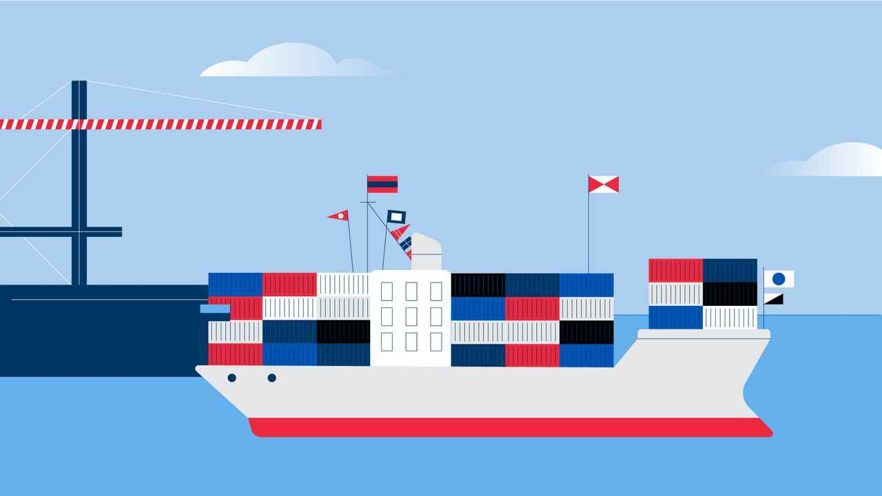Ocean Carrier Terminal Operators Software Animation by Darvideo