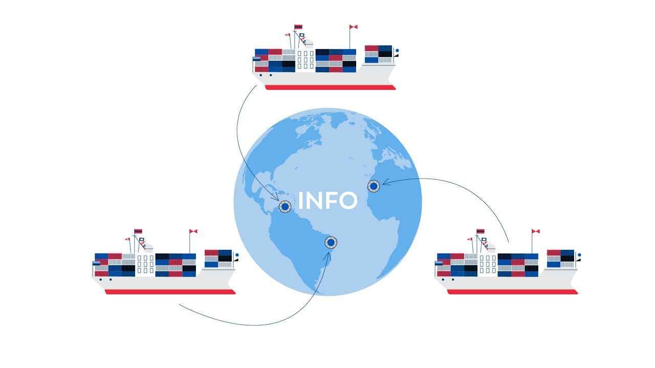 Ocean carrier terminal operator - Animated Explainer Video