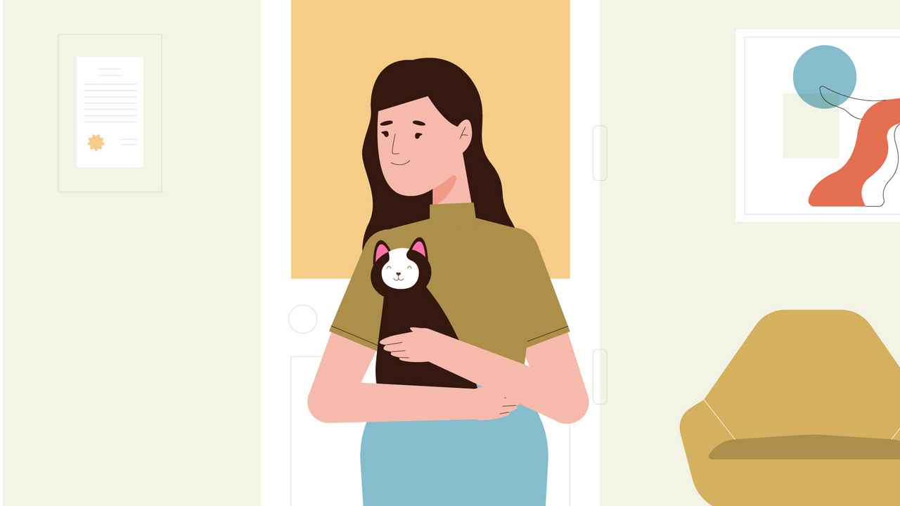 Beloved Cat - 2D Animated Video