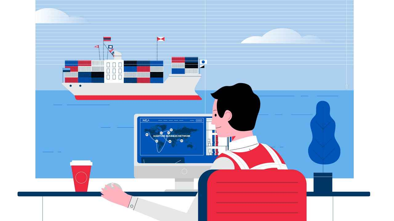 "Ship in the video ""Ocean Carrier Terminal Operators"""