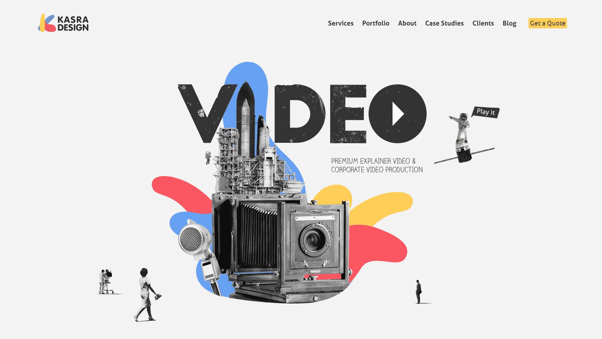 Kasra Design - video production company