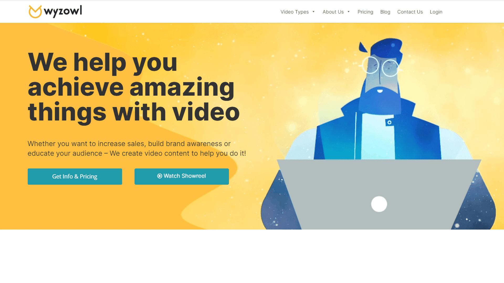 Wyzowl - Cool Animation Companies