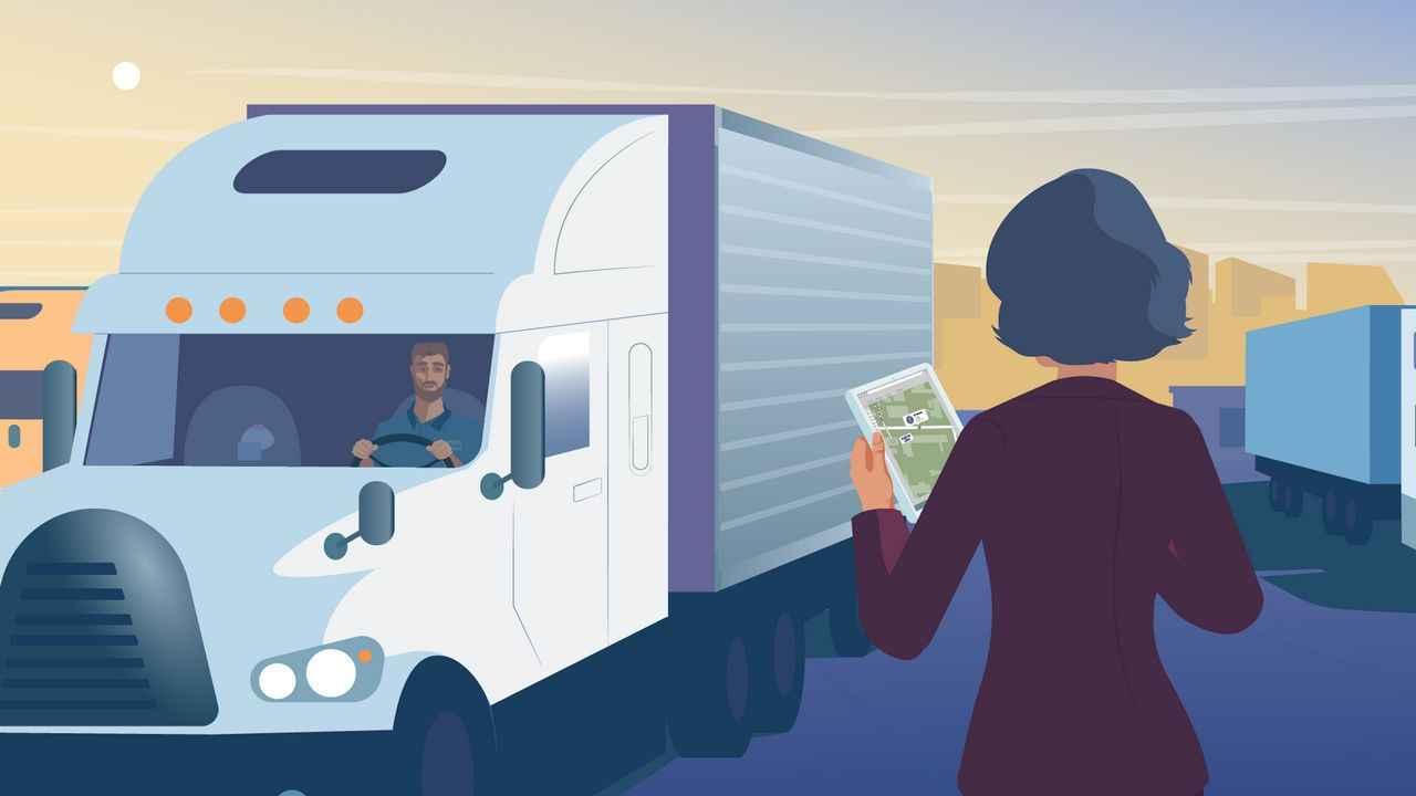 Benefits of FleetUp Software   Logistics and Transportation Video
