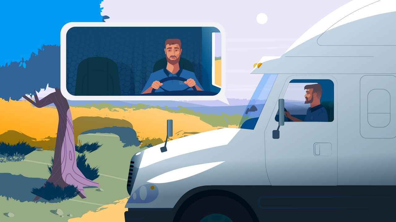 Logistics and Transportation - 2D Animated Video