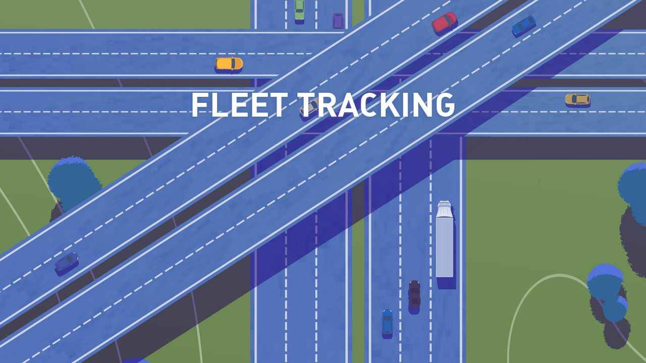 Fleet tracking via FleetUp Software