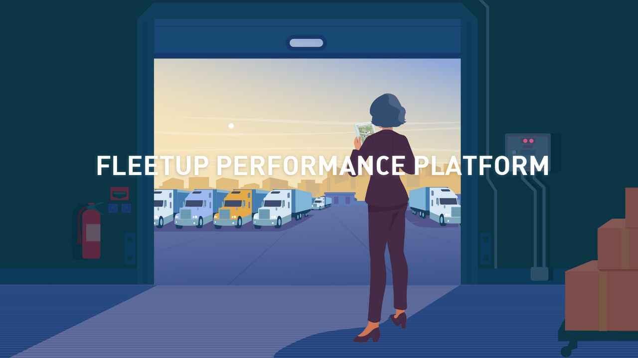 Explainer Video about the FleetUp performance platform
