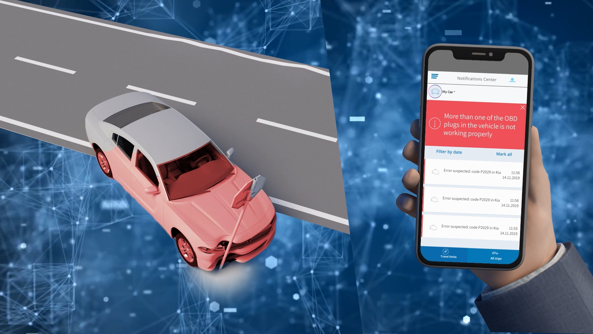 BeConnected Smart Car - 3D Animated Explainer Video