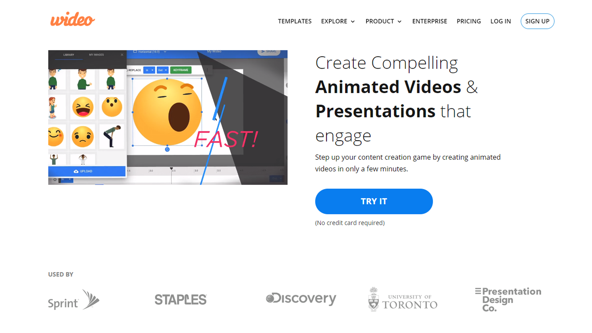 Wideo - Create animations online