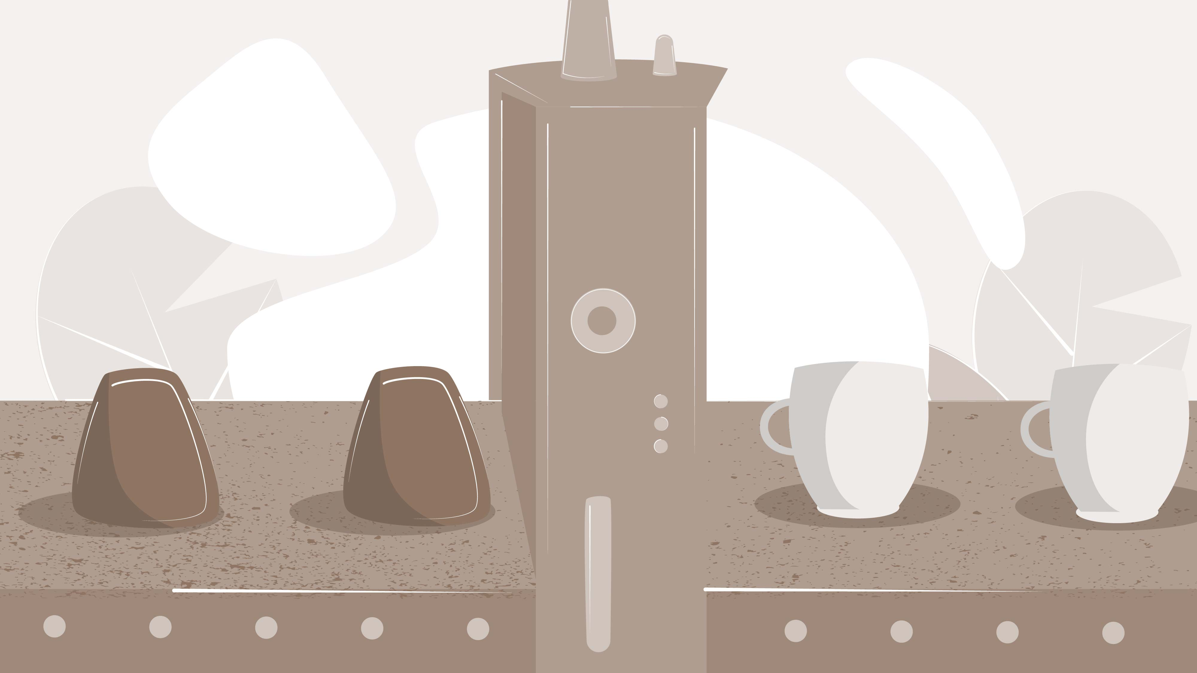 The use of coffee grounds | Explainer video by Darvideo studio