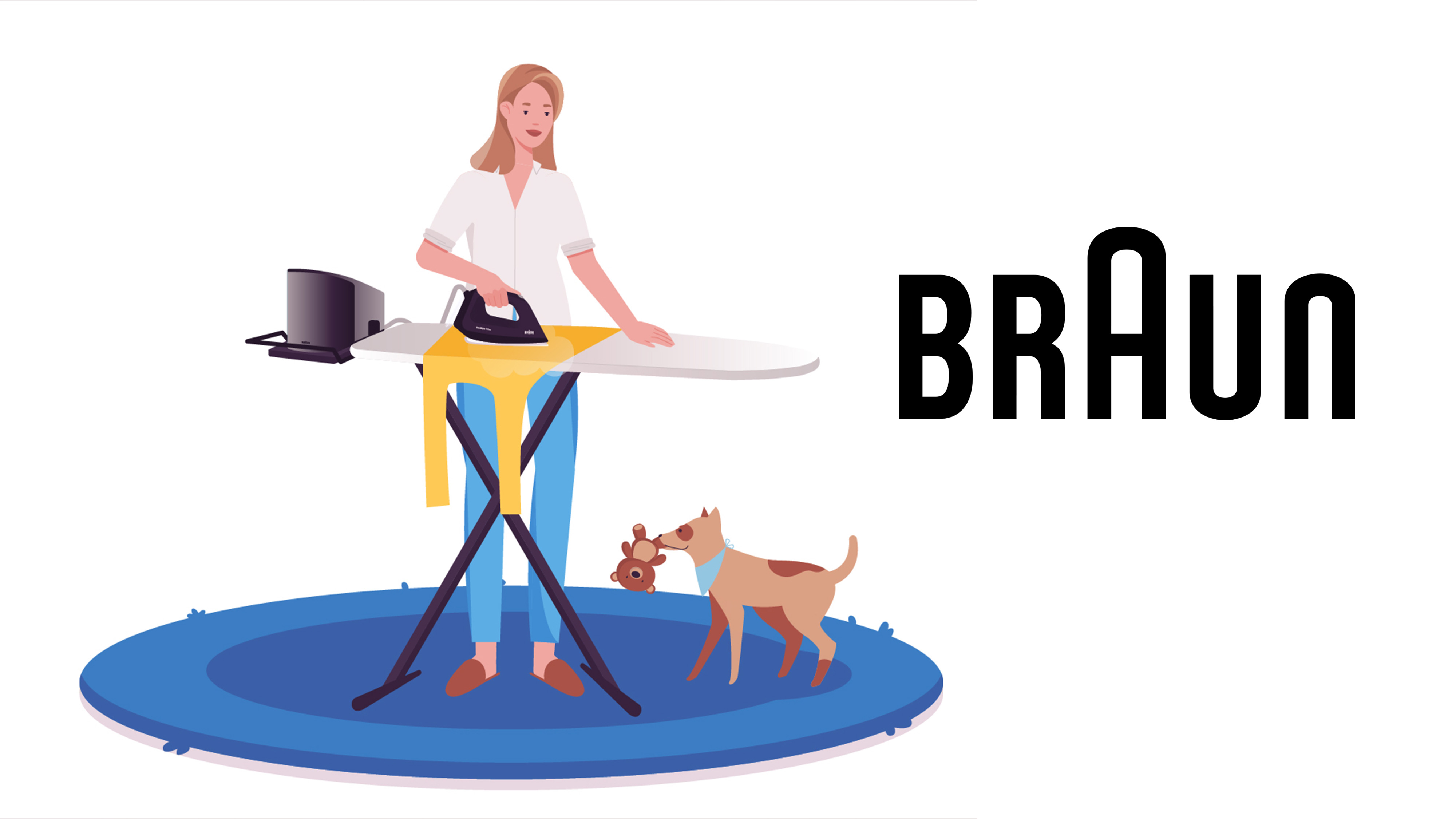 Braun Animated video commercial