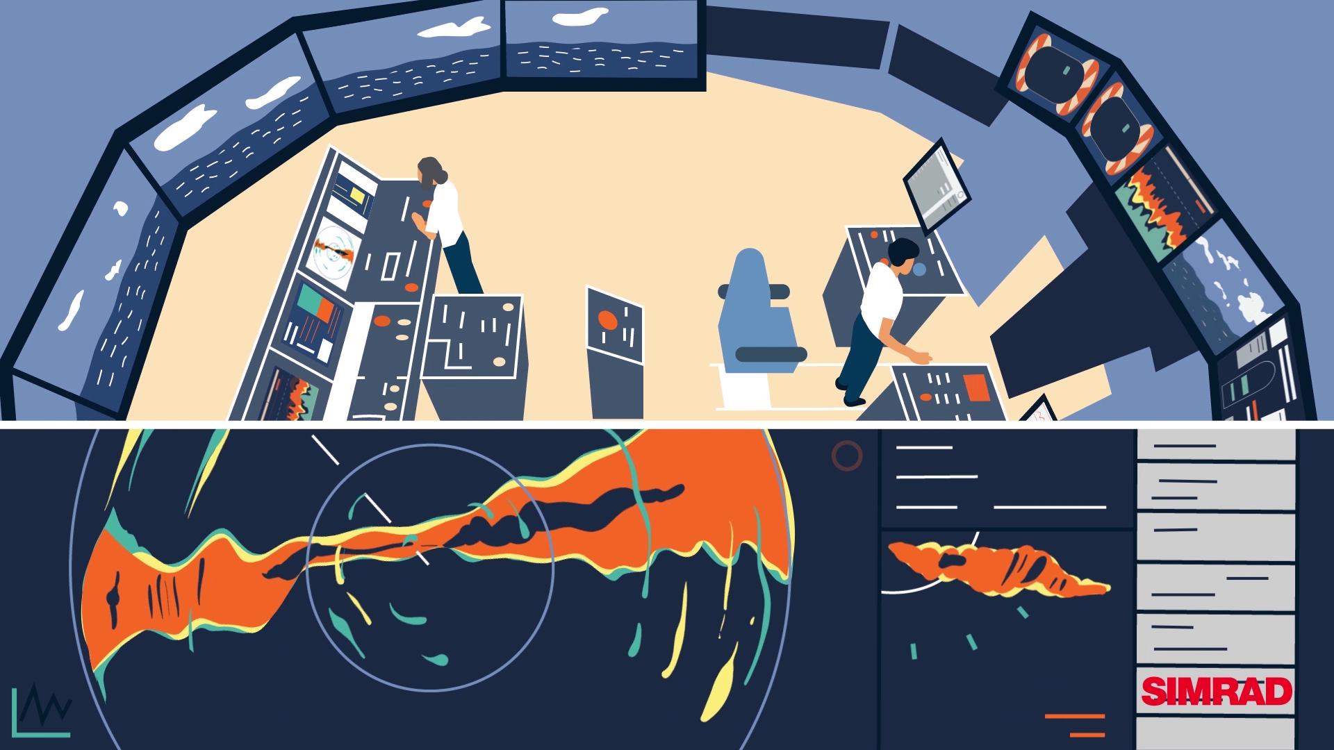 Ship management | Innovative Sailing Simulator Explainer