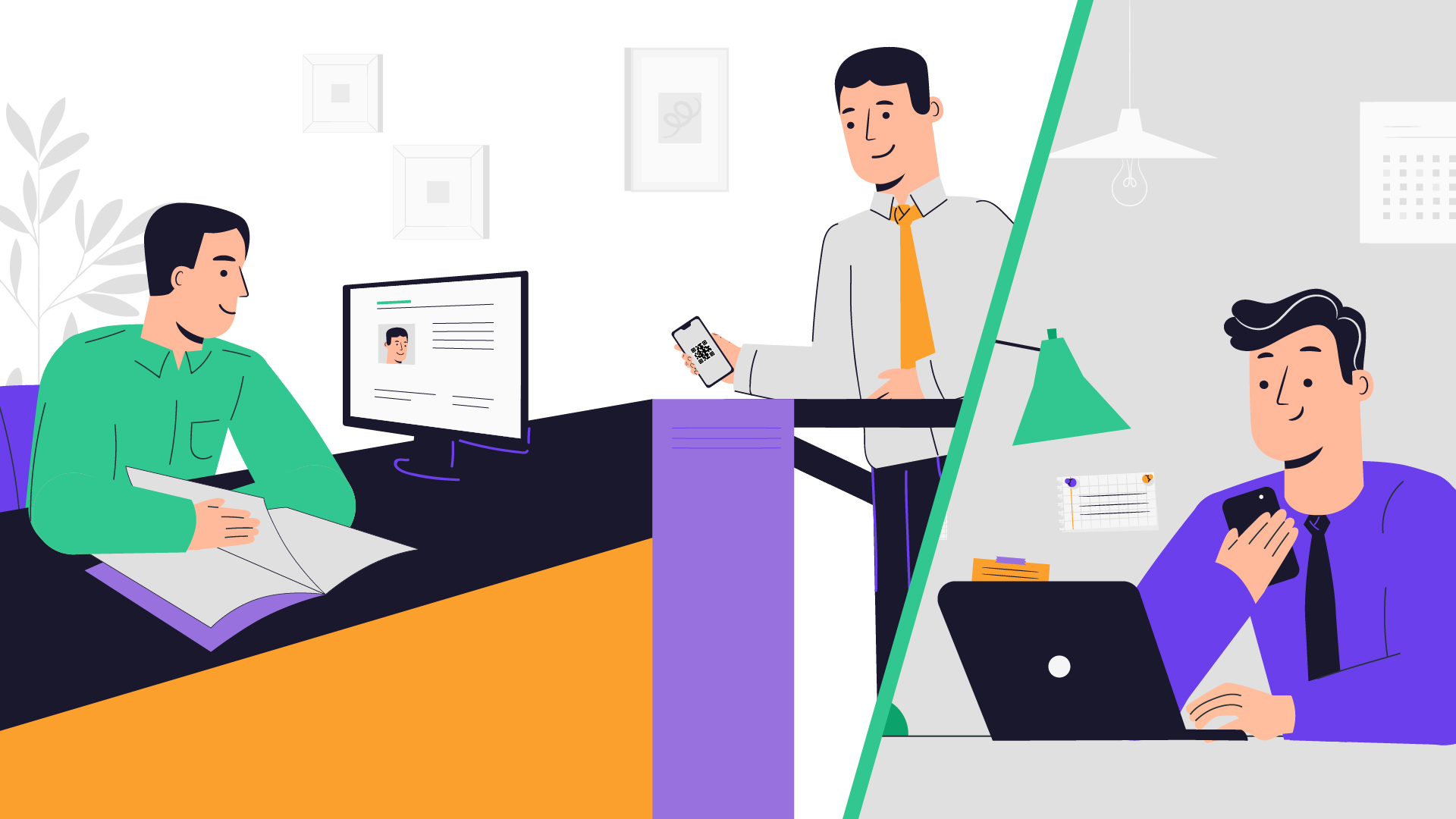 Business - Business App Animation Video