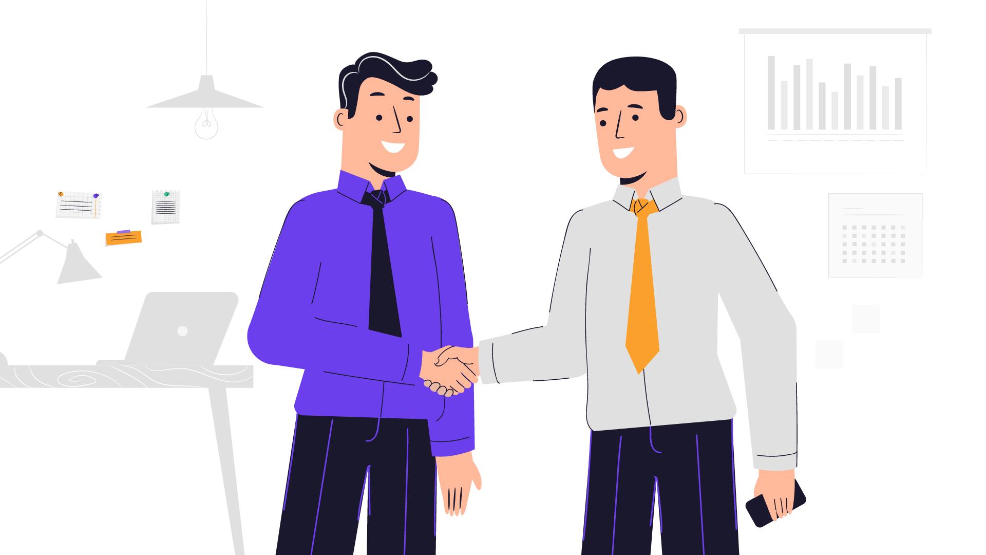 Deal. 2D animation