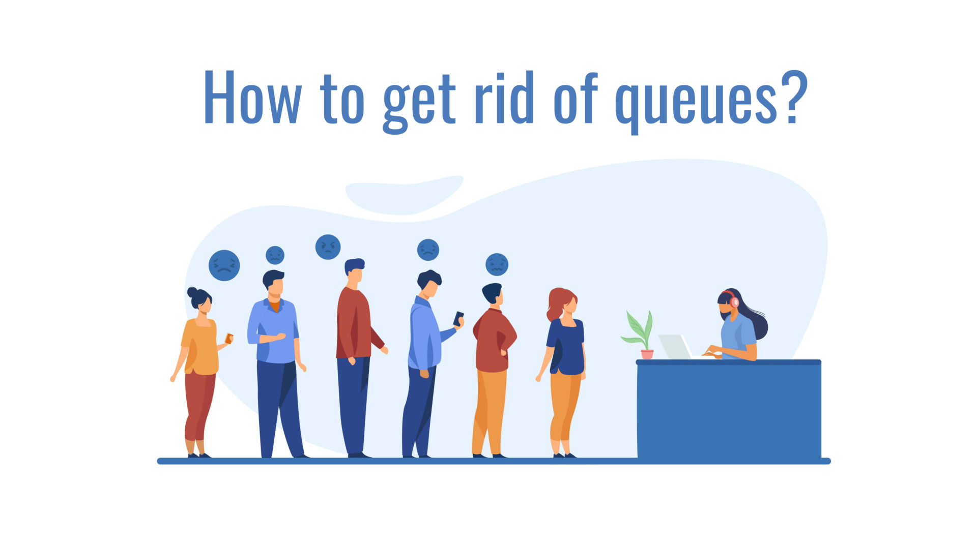 """Animated Explainer Video """"How to Get Rid of Queues?"""""""