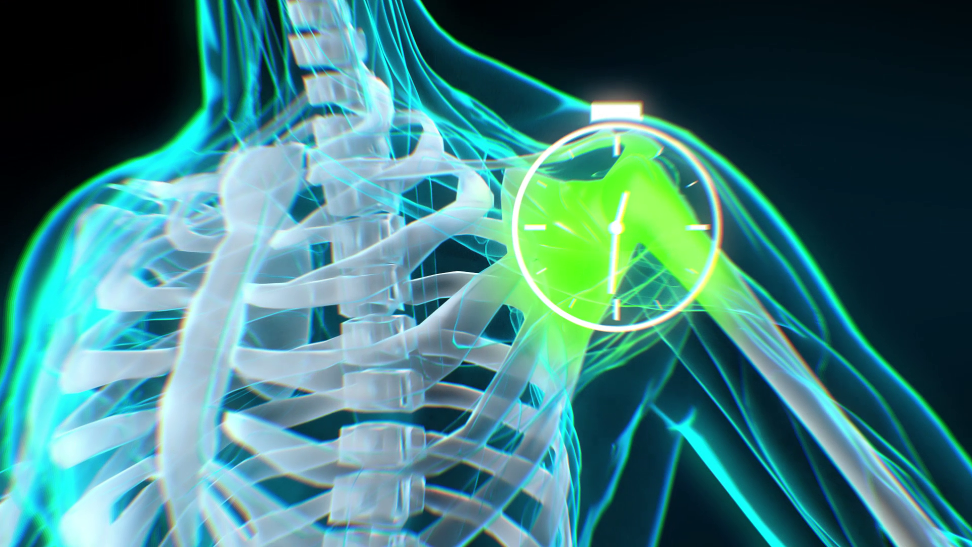 Fast treatment. 3D Animated Video