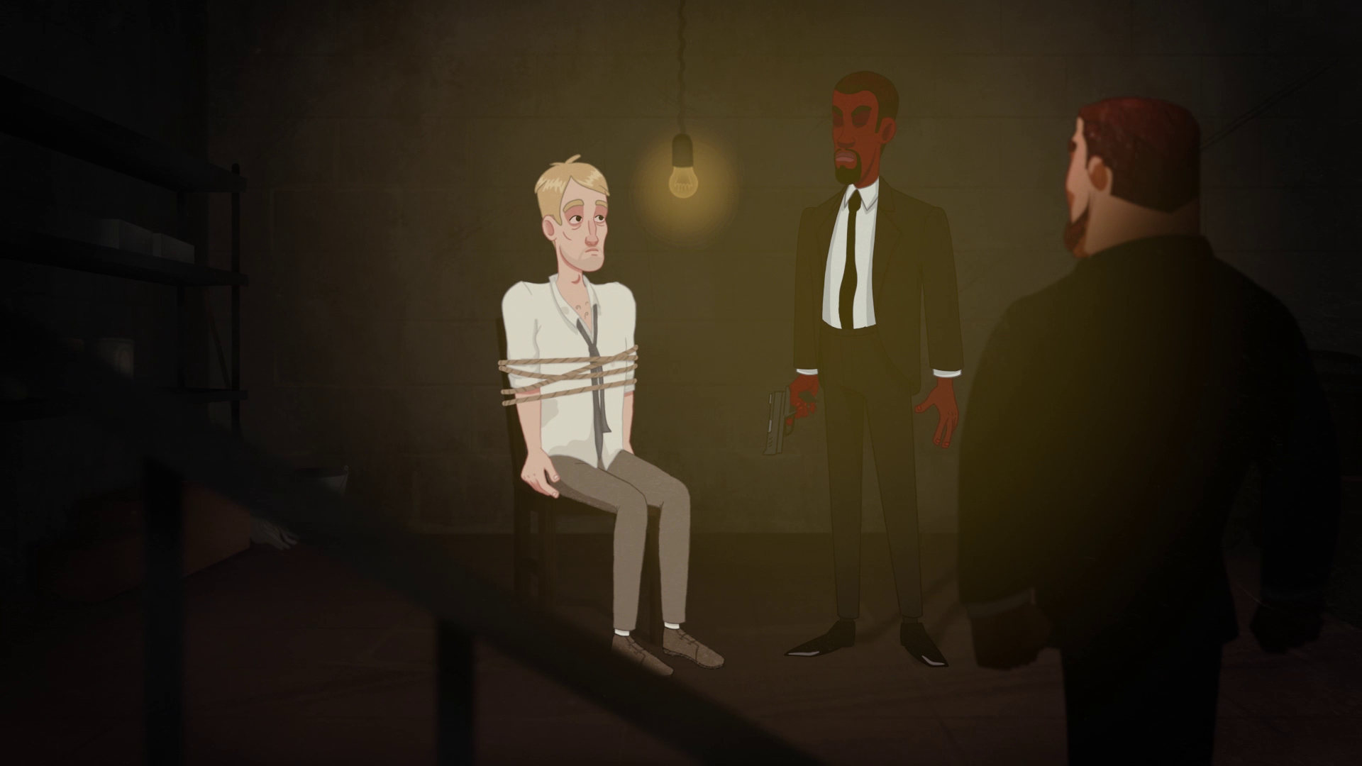 Hostage - 2D Animated Video