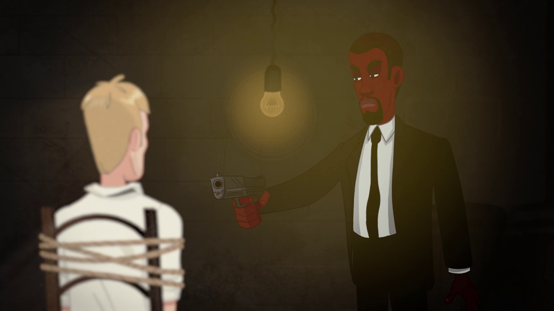 Under the barrel of a pistol - Animated Video