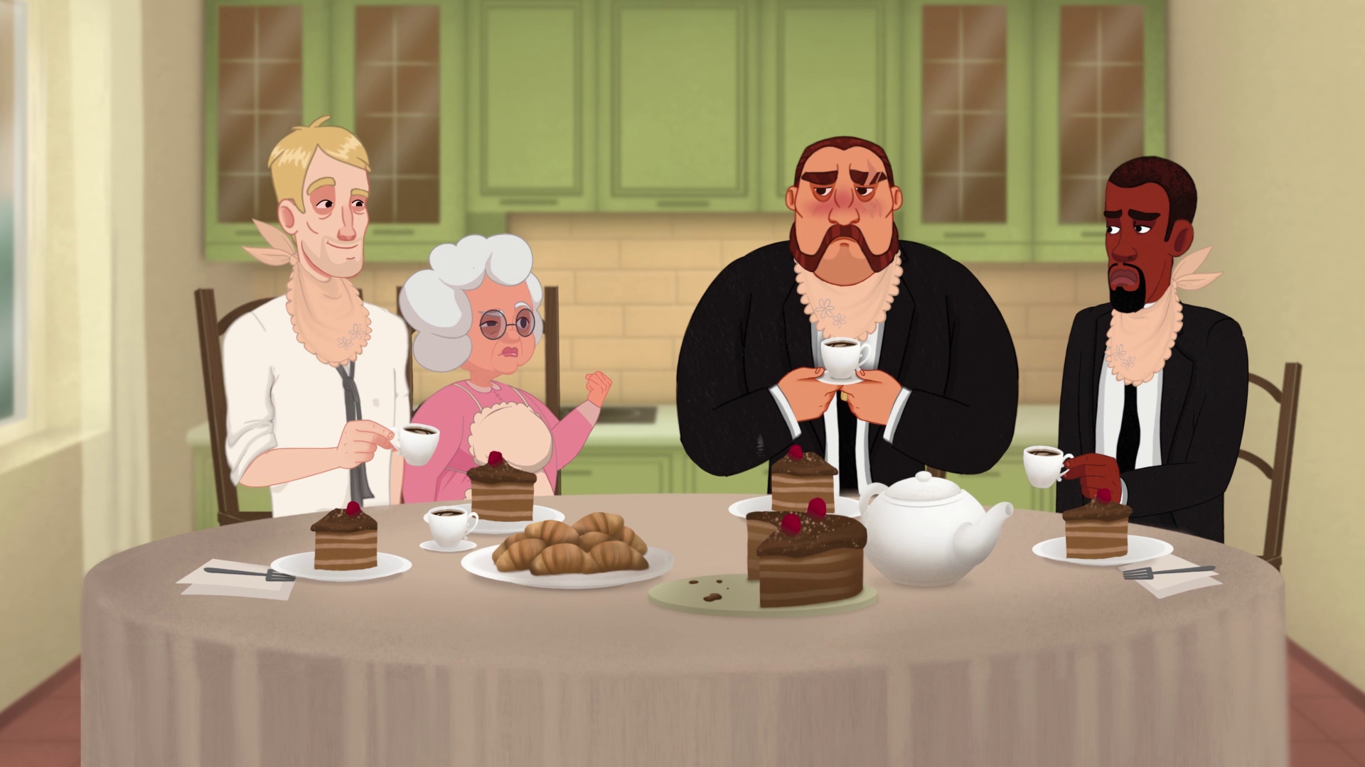 Tea Party at Animated Advertising