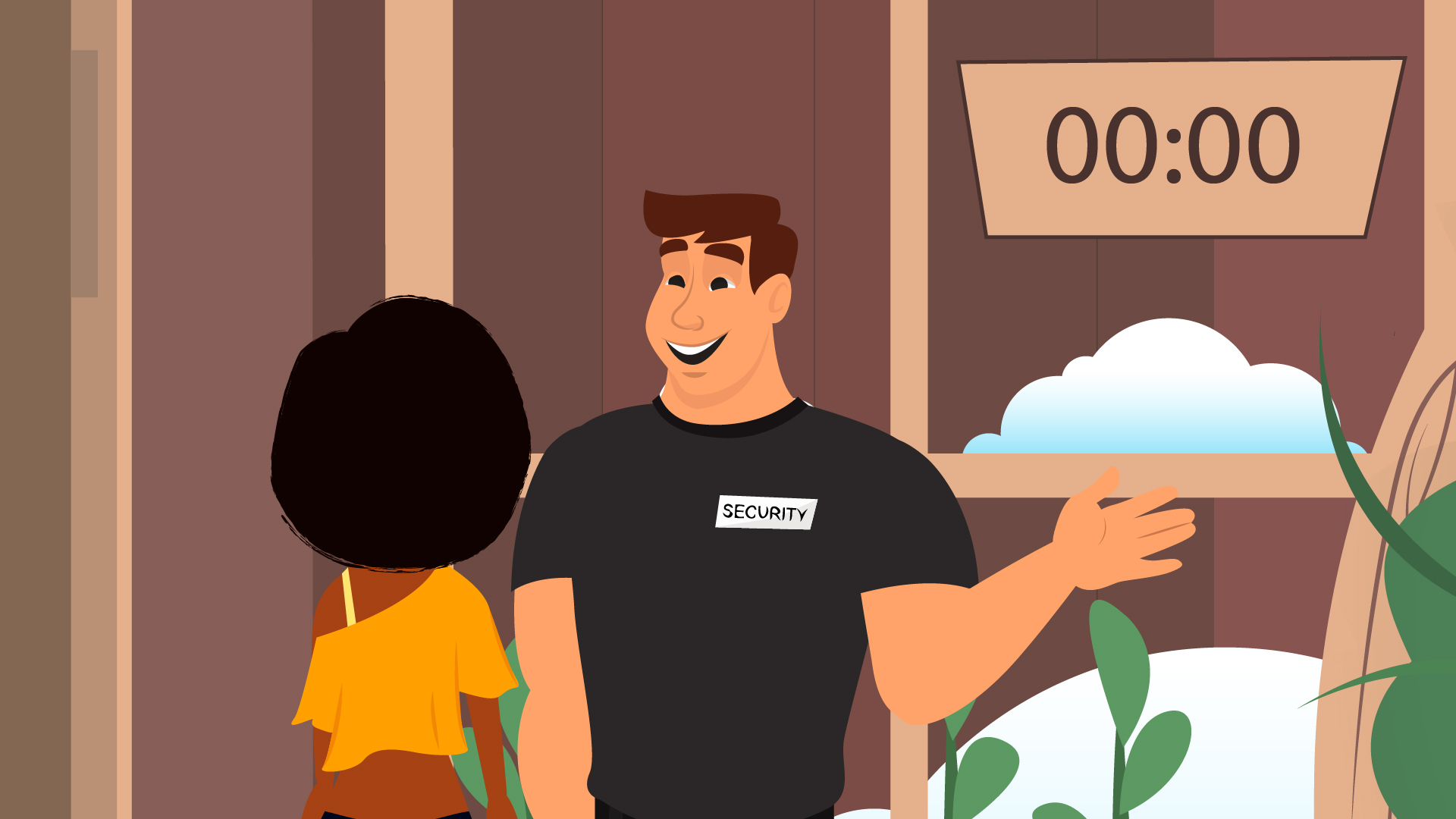 Security in 2D Animated Video
