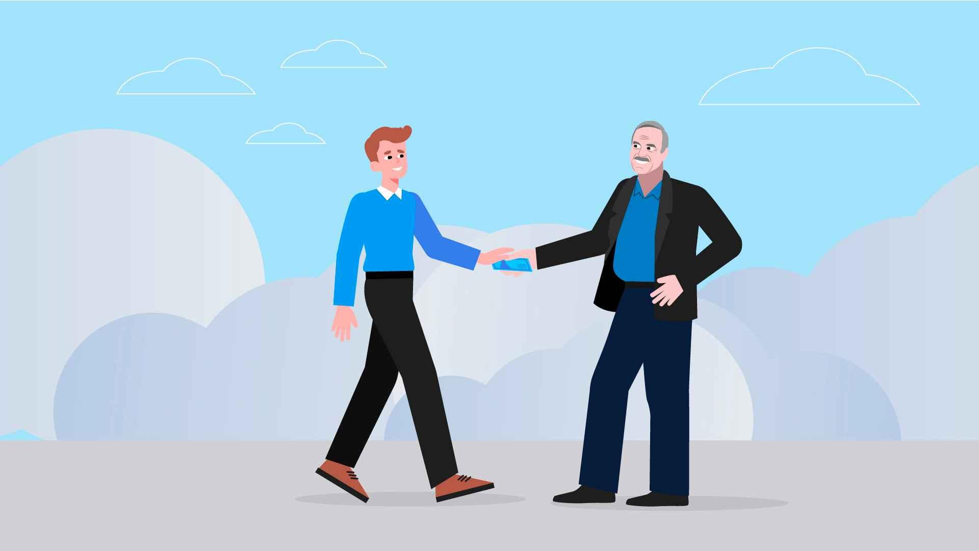 Handshake - 2D Animated Video